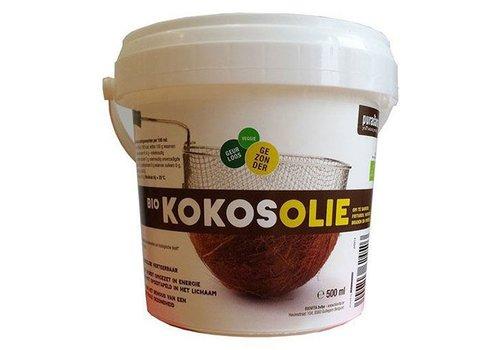 Purasana bio biologische kokosnoot olie 500 ml