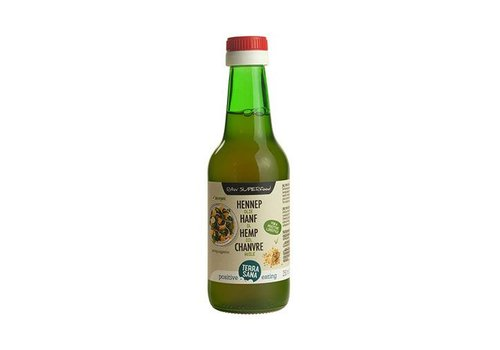 Terrasana bio hennep zaad olie 250 ml