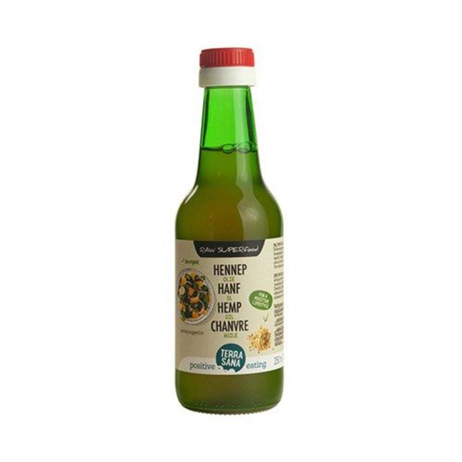 bio hennep zaad olie 250 ml