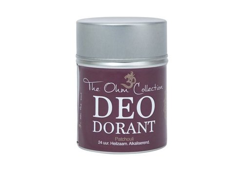 The Ohm Collection deo dorant classic poeder patchouli