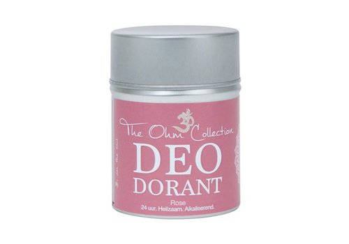 The Ohm Collection deo dorant classic poeder roos