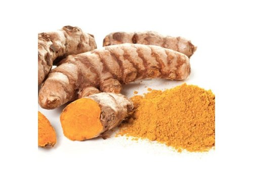 Nutrikraft bio kurkuma curcuma geelwortel poeder 125 gram