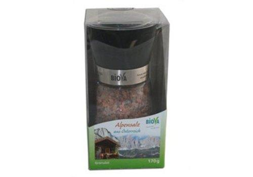 Biova zoutmolen met alpenzout 170 gram