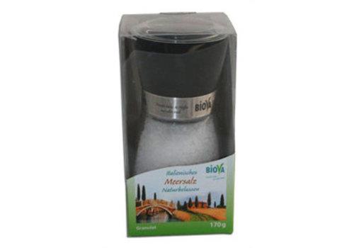 Biova zoutmolen met zeezout uit italie 170 gram