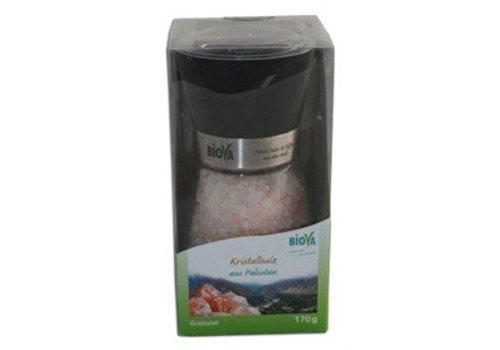 Biova zoutmolen met kristalzout uit pakistan 170 gram