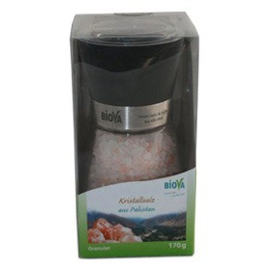 zoutmolen met kristalzout uit pakistan 170 gram