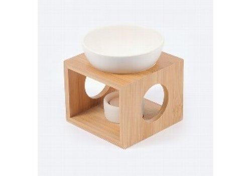 Nutrikraft aromalamp houtkleur
