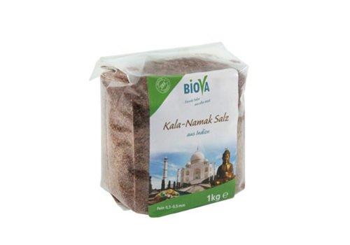 Biova kala namak zout uit india fijn 1 kg