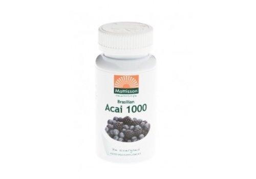 Mattisson Acai 1000 acai berry extract capsules 60 vcaps