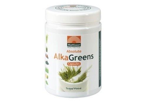 Mattisson Absolute Alka Greens 750 mg BIO 240 capsules