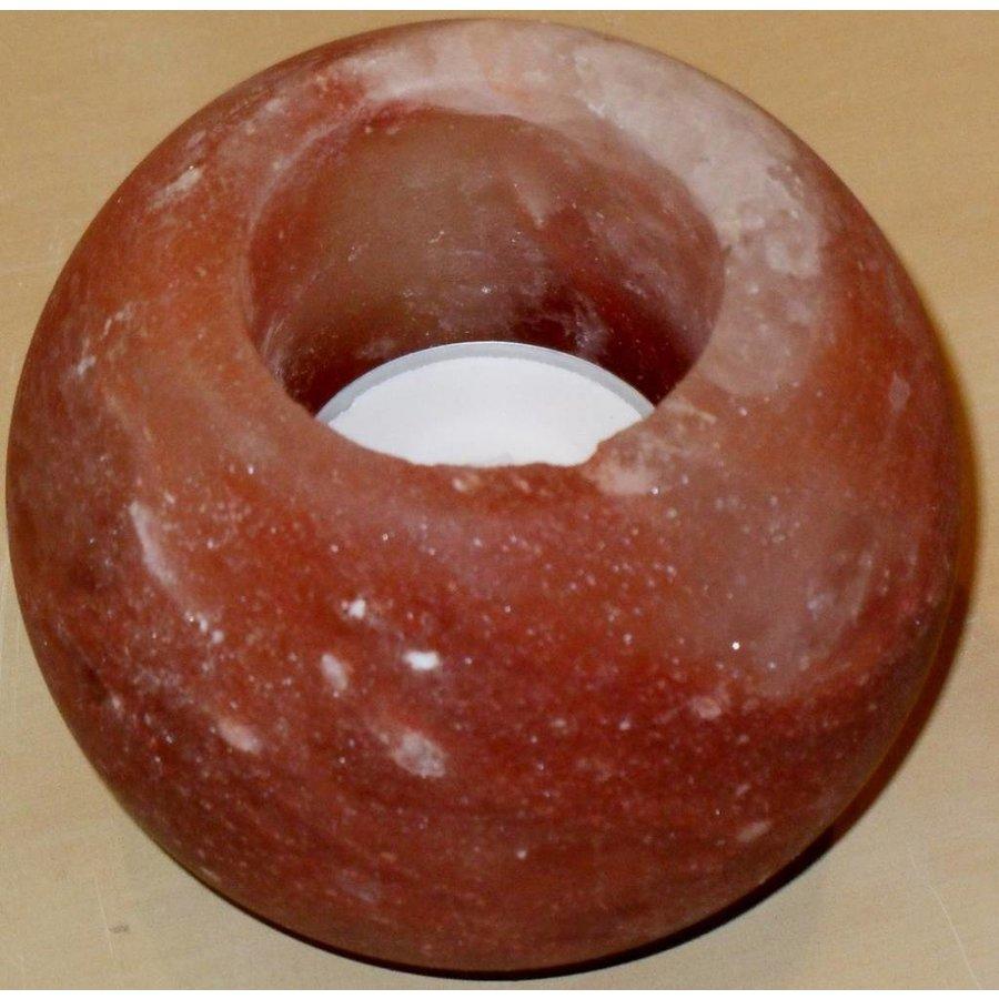 zout theelicht bol rond geslepen 600 gram