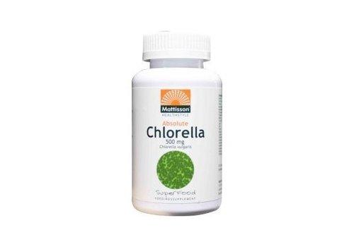 Mattisson Absolute Chlorella 500 mg BIO tabletten 240 tabs