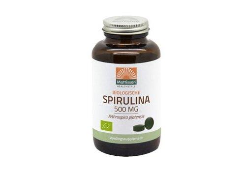 Mattisson absolute spirulina 500 mg bio tabletten 240 tabs