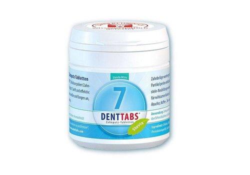 Denttabs Tandenpoetstabletten fluoridevrij 125 stuks