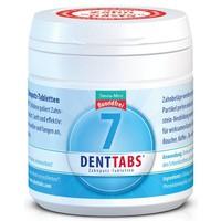 Tandenpoetstabletten fluoridevrij 125 stuks