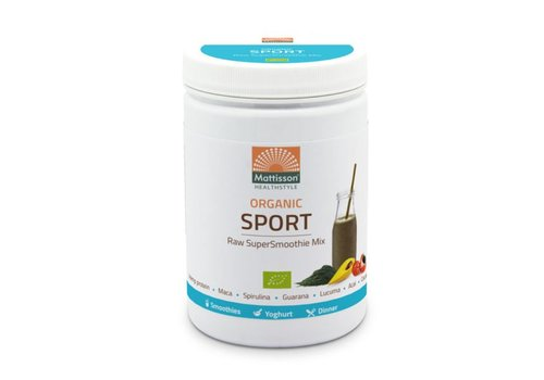Mattisson supersmoothie raw sport bio mix 300 gram