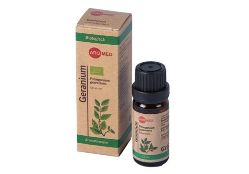 Aromed geranium essentële olie - 10ml