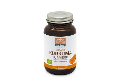 Mattisson curcuma longa geelwortel extract capsules 60 vcaps