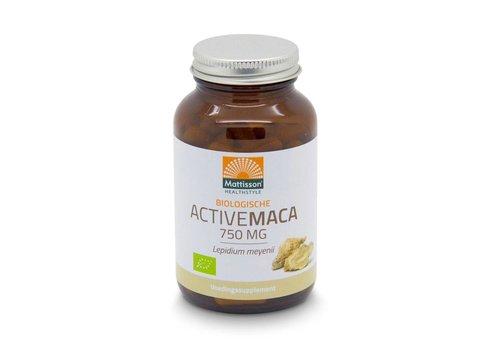 Mattisson active maca 750 mg poeder capsules 90 vcaps
