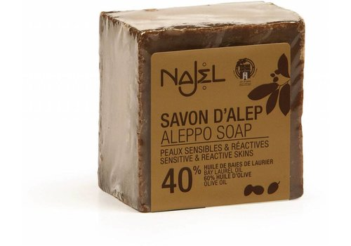 Najel zeep regular 40% laurierolie 185 gram