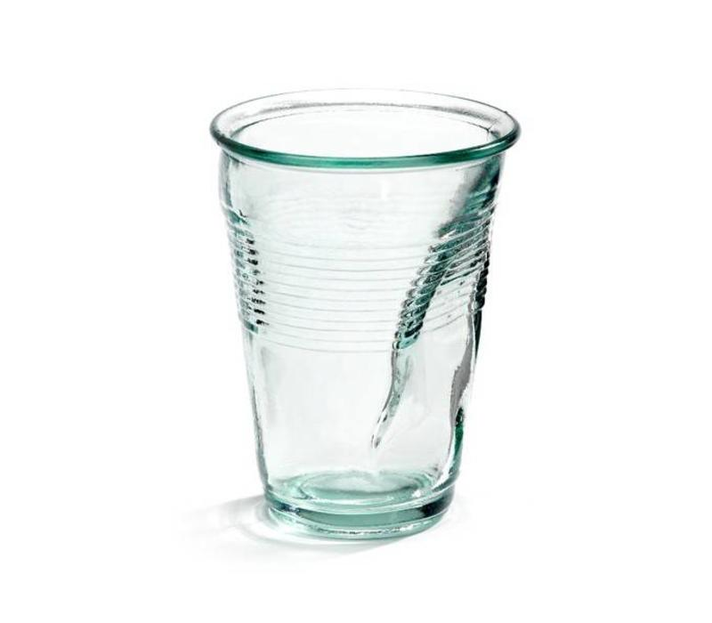 Crushed Cup XL Glass