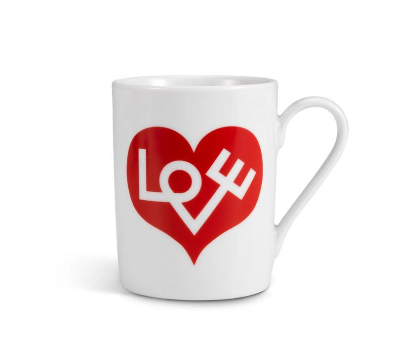 Coffe Mug Love Rood
