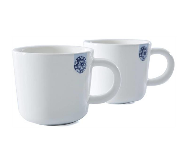 Touch of Blue Mug S set of 2
