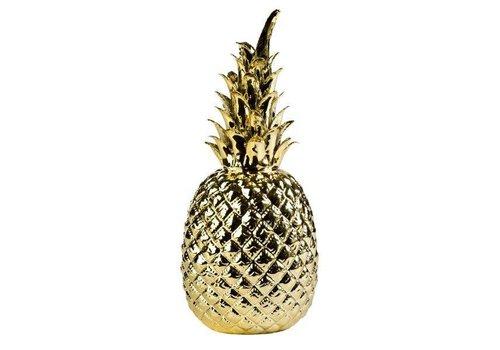 pols potten Pineapple woondecoratie