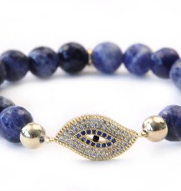 Sangie Palm Beach Evil Eye armband