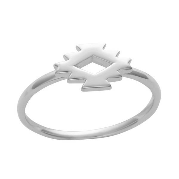 Midsummer Star Aztec ring