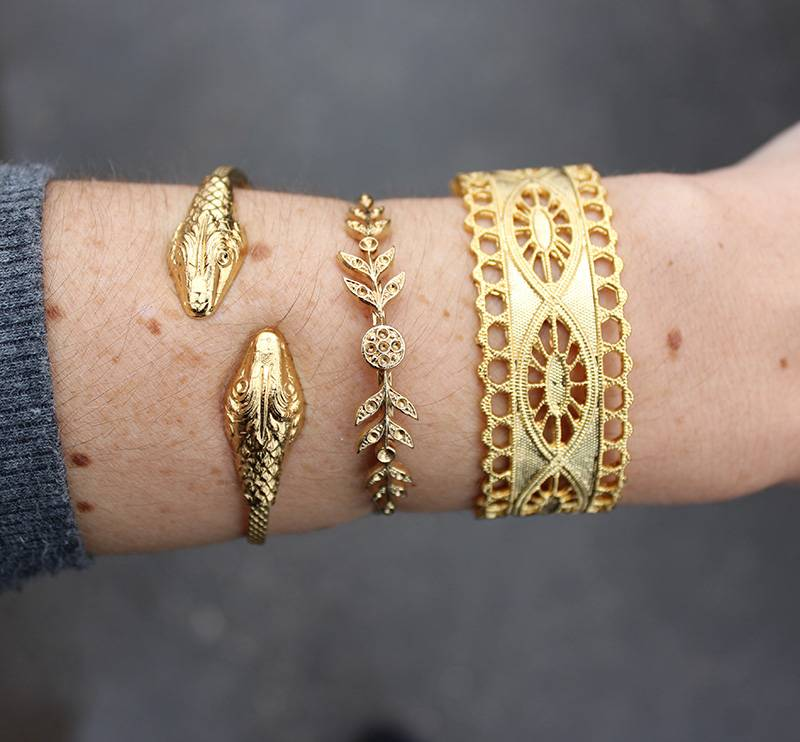 Dear Charlotte Snake Bracelet
