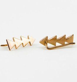 Lunai Triangle Ear pin