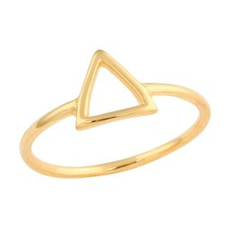 Midsummer Star Open Triangle Ring