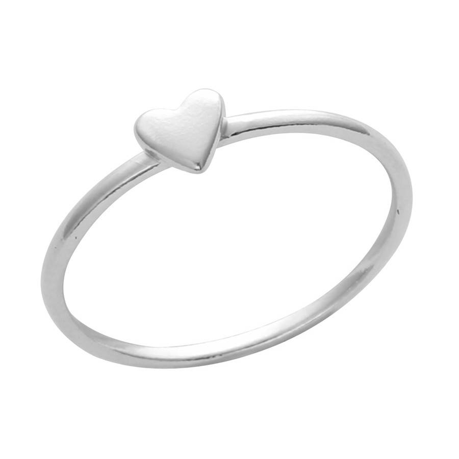 Midsummer Star Heart ring