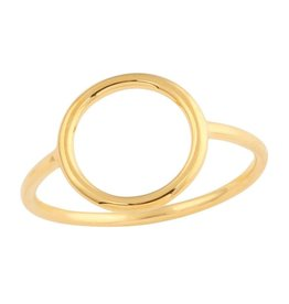 Midsummer Star Circle Gold ring