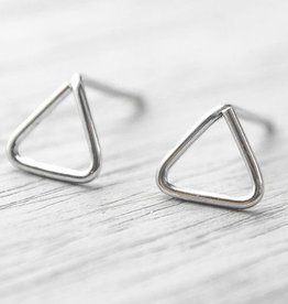 Lunai Triangle Earrings
