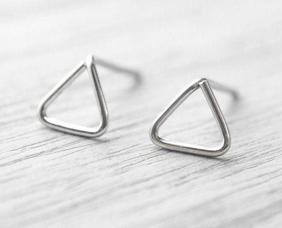 Lunai Triangle Earrings