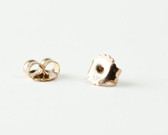 Lunai Triangle Stud Earrings