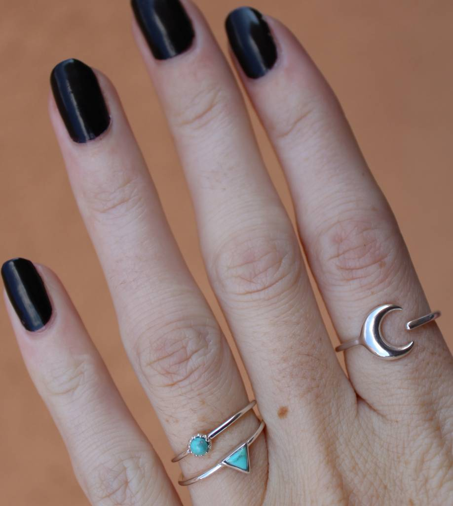Midsummer Star Turquoise Eye Ring