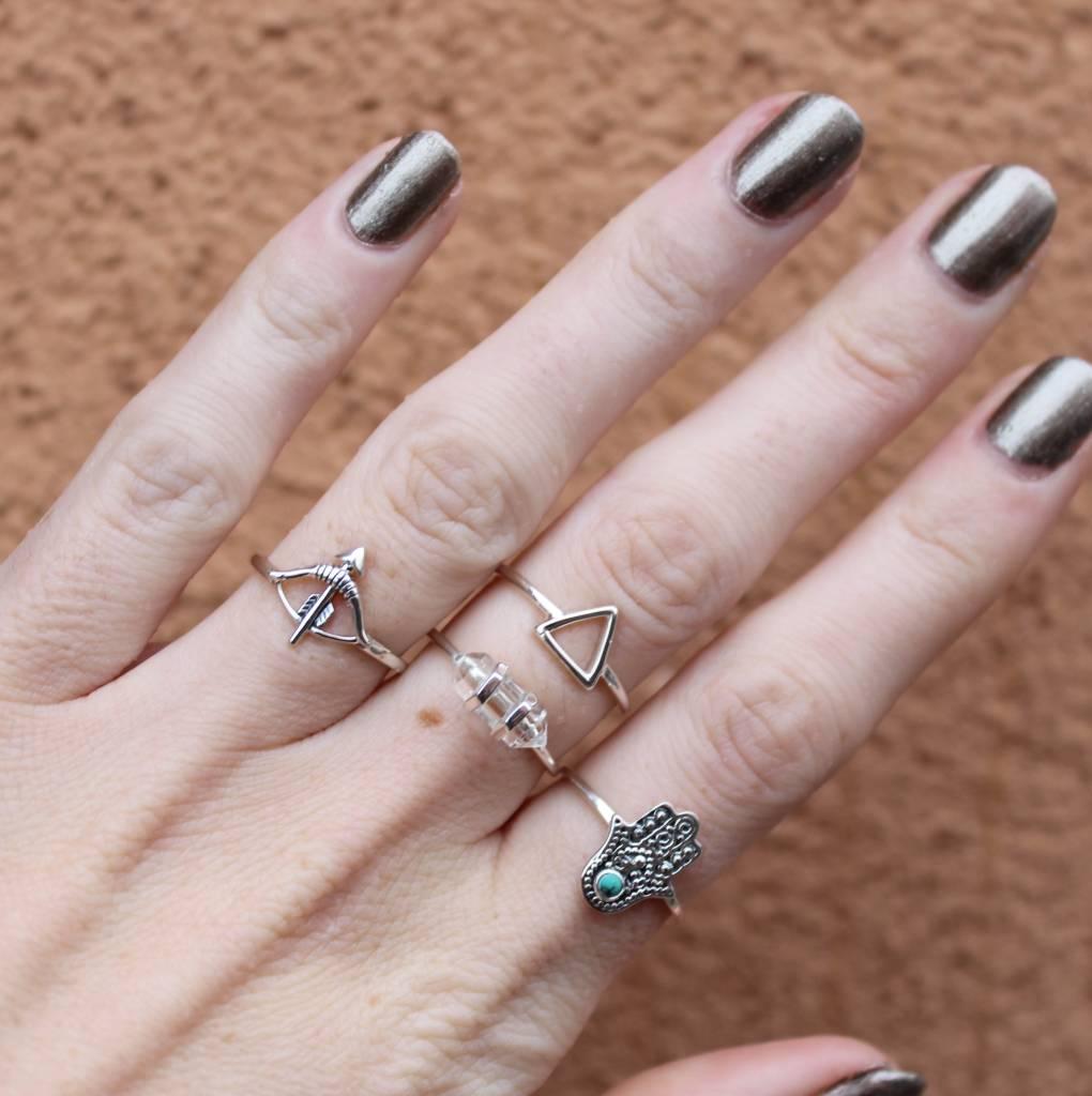 Midsummer Star Crystal Ring