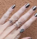 Midsummer Star Pijl en Boog Ring