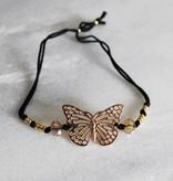 Boho Babes Majou Butterfly Bracelet