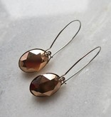 Melissa Kandiyoti Rosé Earrings