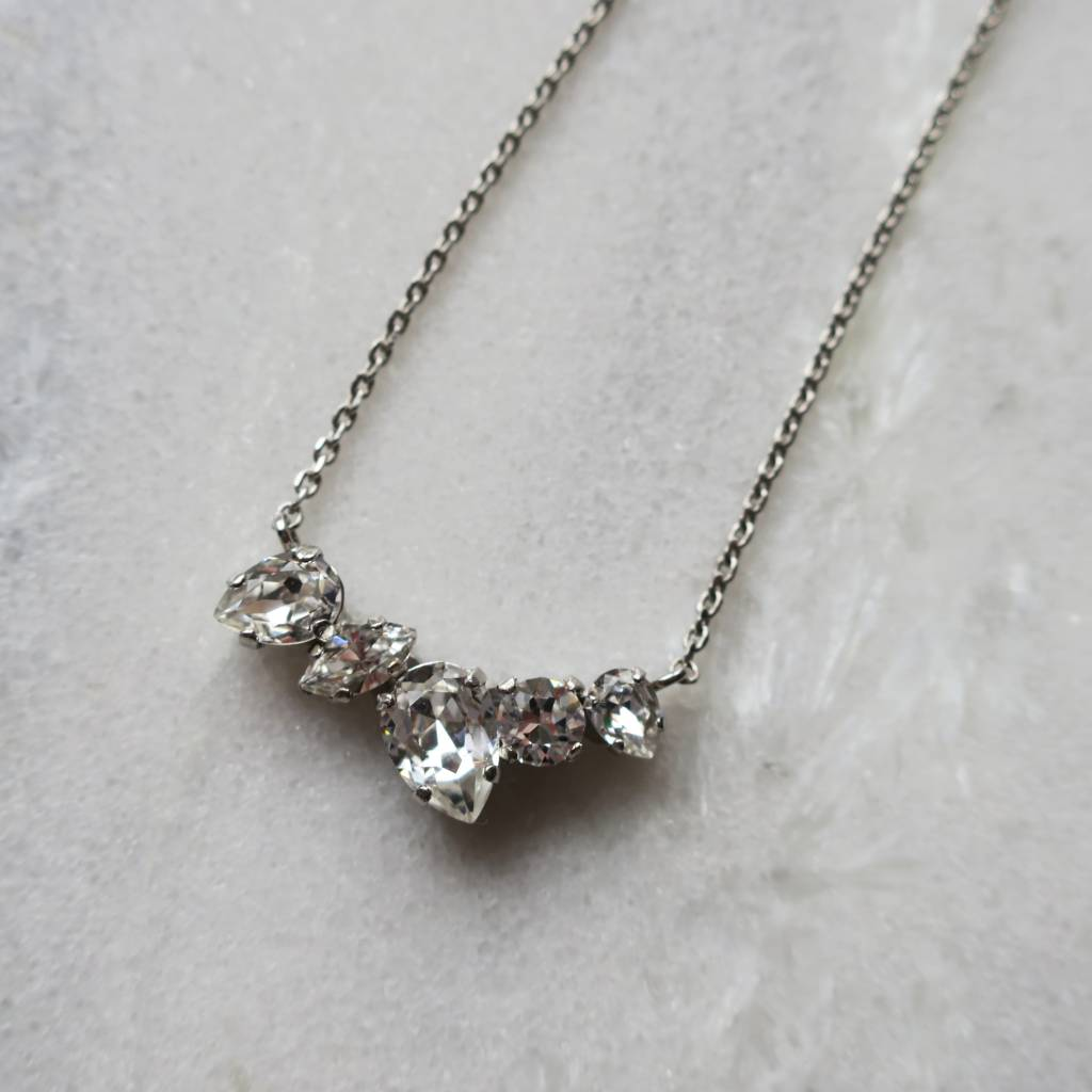 Melissa Kandiyoti Crystal Necklace