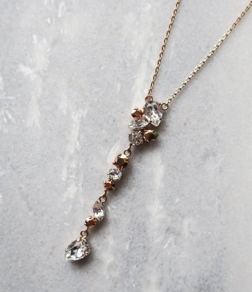 Melissa Kandiyoti Rosé Necklace