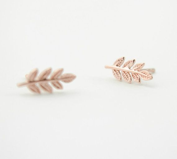 Lunai Leaves Earrings