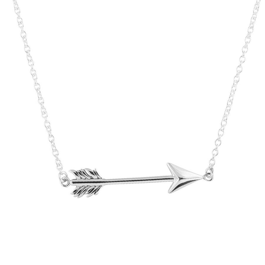 Midsummer Star Arrow Necklace