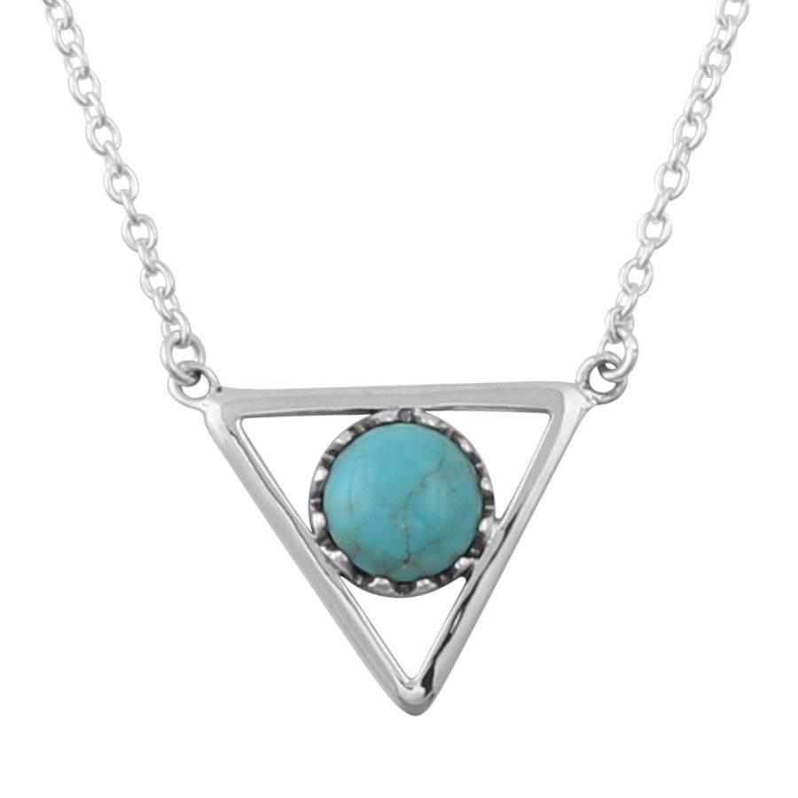 Midsummer Star Inner Eye Triangle Necklace
