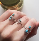 Midsummer Star Bird Skull Ring
