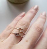 Midsummer Star Peace ring